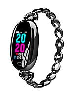 Недорогие -E68 умные часы женщины 0,96 дюймов монитор сердечного ритма ip67 водонепроницаемый спорт фитнес-браслет 14 дней ожидания браслет здоровья