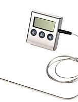 Недорогие -ts-bn50 цифровой духовой шкаф термометр кухня приготовления пищи мясо барбекю термометр с таймером воды температура молока инструмент для выпечки