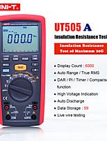 Недорогие -Uni-T UT505A 1000 В цифровой портативный истинный RMS мегомметр измеритель сопротивления изоляции тестер мультиметр ом вольтметр мегомметр