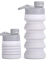 Недорогие -Бутылки для воды Складная бутылка для воды 320 ml PP силикагель Портативные Складной Креатив для Отдых и Туризм Пешеходный туризм Походы / туризм / спелеология 500 pcs