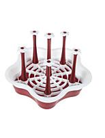 Недорогие -1шт Полки и держатели Пластик Прост в применении Для приготовления пищи Посуда