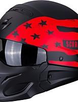 Недорогие -скорпион полнолицевый взрослый мужской мотоциклетный шлем легкая одевание / лучшее качество / полу съемный салон