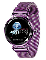 Недорогие -h2 женщины умные часы reloj inteligente монитор сердечного ритма фитнес-трекер леди smartwatch браслет bluetooth водонепроницаемый