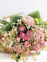 Недорогие -Искусственные Цветы 11 Филиал Классический Modern Вечные цветы Букеты на стол