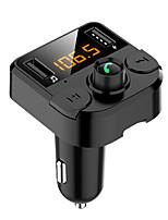 Недорогие -spedcrd bt36b bluetooth 5.0 fm передатчик / автомобильный mp3-плеер bluetooth / автомобильное зарядное устройство