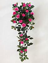 Недорогие -Искусственные Цветы 1 Филиал Классический Modern Розы Вечные цветы Цветы на стену