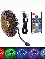 Недорогие -LOENDE 2м Наборы ламп 60 светодиоды SMD5050 RGB Водонепроницаемый / USB / Для вечеринок 5 V / Работает от USB 1 комплект