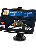 Недорогие -t600 7-дюймовый fm gps 256m 8g windows ce 6.0 автомобильный gps-навигация авто сенсорный экран gps навигация аудио-видео плеер