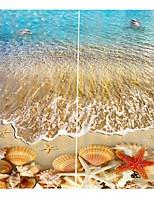 Недорогие -Горячие новые 3d печати шторы утолщенные полный оттенок ткани занавес для гостиной водонепроницаемый против морщин чистого полиэстера занавески для душа