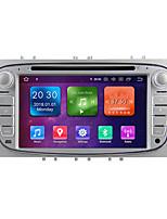 Недорогие -Winmark wg7009s android 9.0 Автомобильный DVD-плеер в приборной панели мультимедийная система 7-дюймовый 2-ядерный процессор Octa Core 4G 32G Wi-Fi Ex-3G DAB для Ford Focus 2009-2010 WG7009 Silver