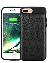 Недорогие -2500 mAh Назначение Внешняя батарея Power Bank 5 V Назначение 2 A Назначение Зарядное устройство Кейс со встроенной батареей для iPhone LED