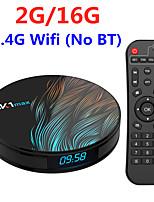 Недорогие -hk1 max android 9.0 тв бокс 2гб 16гб рокчип rk3318 1080p h.265 4к 60fps bt4.0 магазин google play netflix youtube set top box
