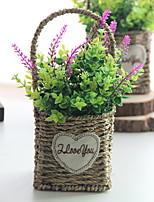 Недорогие -Искусственные Цветы 1 Филиал Классический Современный современный Ваза Букеты на стол