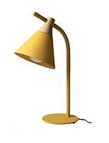 Недорогие -Простой / Современный современный Новый дизайн / Окружающие Лампы / Милый Настольная лампа / Лампа для чтения Назначение В помещении / кафе Металл 110-120Вольт / 220-240Вольт Зеленый / Желтый / Серый
