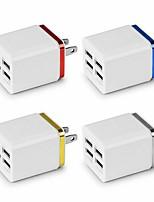 Недорогие -5.1a USB адаптер питания зарядное устройство 4 порта зарядное устройство куб блок