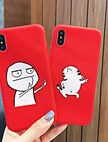 cheap -Shockproof TPU Cartoon Lovers Phone Case for Apple iPhone 11 Pro Max X XR XS Max 8 Plus 7 Plus 6 Plus SE Back Cover