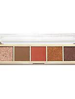 Недорогие -5 цветов Тени Тени для век Pro / Прост в применении Офис Повседневный макияж косметический