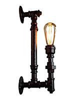 Недорогие -деревенский настенный светильник дизайн водопровода американский промышленный бра 1 световая труба загородный коридор лестница освещение настенное крепление 1 свет