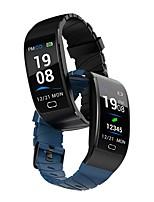 Недорогие -Мода s7 монитор сердечного ритма сна ip68 водонепроницаемый умный браслет часы шагомер силикагель часы