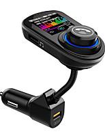 Недорогие -vr робот bluetooth автомобильный комплект громкой связи FM Transimtter Dual QC 3.0 быстрая зарядка TF карта U диск аудио автомобиля mp3-плеер G45