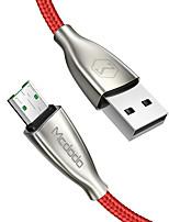 Недорогие -Mcdodo 4a Micro USB высокоскоростной кабель синхронизации синхронизации данных поддержка OPPO VOOC 1,5 м