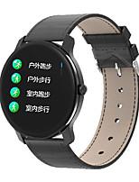 Недорогие -Смарт Часы Цифровой Современный Спортивные Натуральная кожа 30 m Защита от влаги Пульсомер Bluetooth Цифровой На каждый день На открытом воздухе - Черный Коричневый Розовый