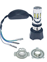 Недорогие -наивысшая мощность 4in1 6000k h4 / h6m 6-cob светодиодная фара для мотоцикла / велосипеда