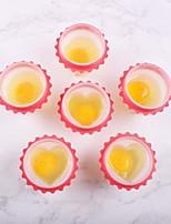 Недорогие -4 шт. Комплект силиконовые яйцо браконьер яйцо чашка чайник портативный вареное яйцо на пару кухонные инструменты завтрак