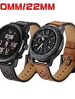 Недорогие -Ремешок для часов для Gear S3 Frontier / Gear S3 Classic / Gear S2 Classic Samsung Galaxy / Huawei / Motorola Классическая застежка Натуральная кожа Повязка на запястье