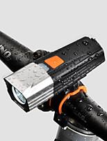Недорогие -Светодиодная лампа Велосипедные фары Передняя фара для велосипеда LED Горные велосипеды Велоспорт Водонепроницаемый Несколько режимов Супер яркий 18650 900 lm Перезаряжаемая батарея Белый
