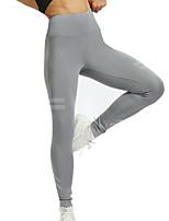 Недорогие -Жен. Штаны для йоги Мода Бег Фитнес Тренировка в тренажерном зале Велоспорт Колготки Спортивная одежда Дышащий Влагоотводящие Быстровысыхающий Эластичность