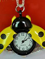 Недорогие -Муж. Карманные часы Кварцевый Старинный Бронза Творчество Новый дизайн Аналого-цифровые Винтаж - Белый Золотой Желтый