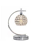 Недорогие -Хрустальный глобус настольная лампа современная современная лампа окружающего освещения декоративная настольная лампа для спальни / кабинета / офиса