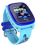 Недорогие -Смарт-часы DF25 детские часы водонепроницаемые дети SmartWatch GPS SOS Вызов местоположения устройства трекер дети сейф анти-потерянный монитор