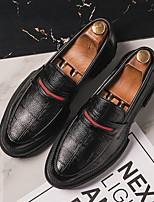 Недорогие -Муж. Комфортная обувь Микроволокно Весна лето Мокасины и Свитер Черный