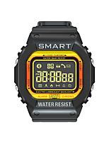 Недорогие -lokmat mk22 мужчины женщины smartwatch android ios bluetooth водонепроницаемый спортивные интеллектуальные таймер информации секундомер шагомер вызов напоминание активность трекер