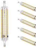 Недорогие -6шт 15 W LED лампы типа Корн Люминесцентная лампа 1500 lm R7S T 164 Светодиодные бусины SMD 2835 Новый дизайн Тёплый белый Белый 220-240 V 110-120 V