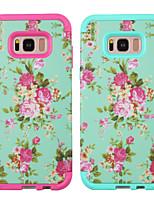 Недорогие -Кейс для Назначение SSamsung Galaxy S8 Plus Защита от удара Кейс на заднюю панель Пейзаж / Цветы ПК