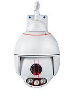 Недорогие -Открытый водонепроницаемый 1080p HD Wi-Fi PTZ-камера 3-кратный зум мониторинг сети