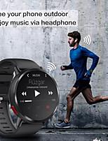 Недорогие -lemfo lem x умные часы bt фитнес-трекер с поддержкой уведомлений / пульсометр с 8.0-мегапиксельной камерой 4g android smartwatch phone