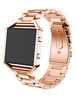 Недорогие -Ремешок для часов для Fitbit Blaze Fitbit Бизнес группа Нержавеющая сталь Повязка на запястье