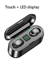 Недорогие -Litbest LX-9 Mini Smart Touch TWS Беспроводные наушники Bluetooth Наушники 5.0 Беспроводные наушники 8D стереогарнитура с зарядным устройством 2000 мАч