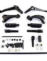 Недорогие -черные ножные передние рычаги управления для Harley Sportster XL 883 1200 48 14-16 15