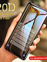 cheap -20d full curved soft hydrogel film for samsung galaxy s9 s8 plus note 9 8 screen protector for samsung s9 s7 s6 edge not glass