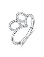 Недорогие -Новая коллекция серебра 925 пробы любовь поцелуй губы палец кольцо красные кольца cz для женщин свадебные обручальные украшения