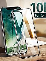 Недорогие -10d закаленное стекло для iphone 6 s 6s 7 8 плюс защитная пленка для стекла полная защитная пленка для iphone xs max x xr phone