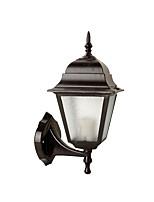 Недорогие -Открытый водонепроницаемый ретро старинные наружные настенные светильники наружный алюминиевый настенный светильник IP 65