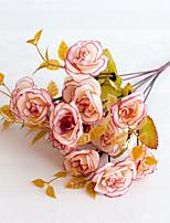 Недорогие -Искусственные Цветы 5 Филиал Классический Modern Пастораль Стиль Розы Вечные цветы Букеты на стол