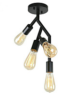cheap -4-Light Geometrical Flush Mount Lights Downlight Painted Finishes Metal 110-120V / 220-240V