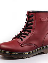 Недорогие -Муж. Кожаные ботинки Кожа Зима / Наступила зима Спортивные / На каждый день Ботинки Водостойкий Ботинки Черный / Винный / Темно-коричневый / на открытом воздухе / Офис и карьера / Fashion Boots